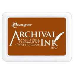 Archival Ink Inkpad - Sepia