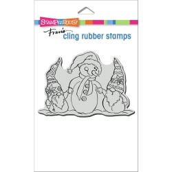 Snome Buddies - Cling Stamps