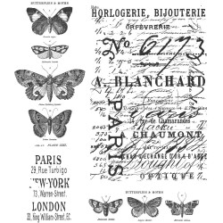 Papillon - Cling Stamp