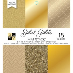 Paper Stack – Solid Golds
