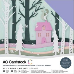 Winter Cardstock Pack