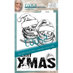 Clear stamp no.17 Xmas -...