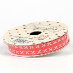 Grosgrain red - x white_7885