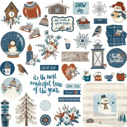 For The Love Of Winter Stickers
