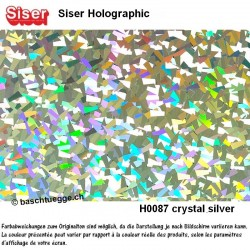 Holographic - Crystal Silver