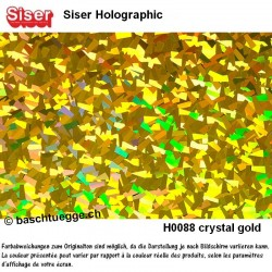 Holographic Crystal Gold
