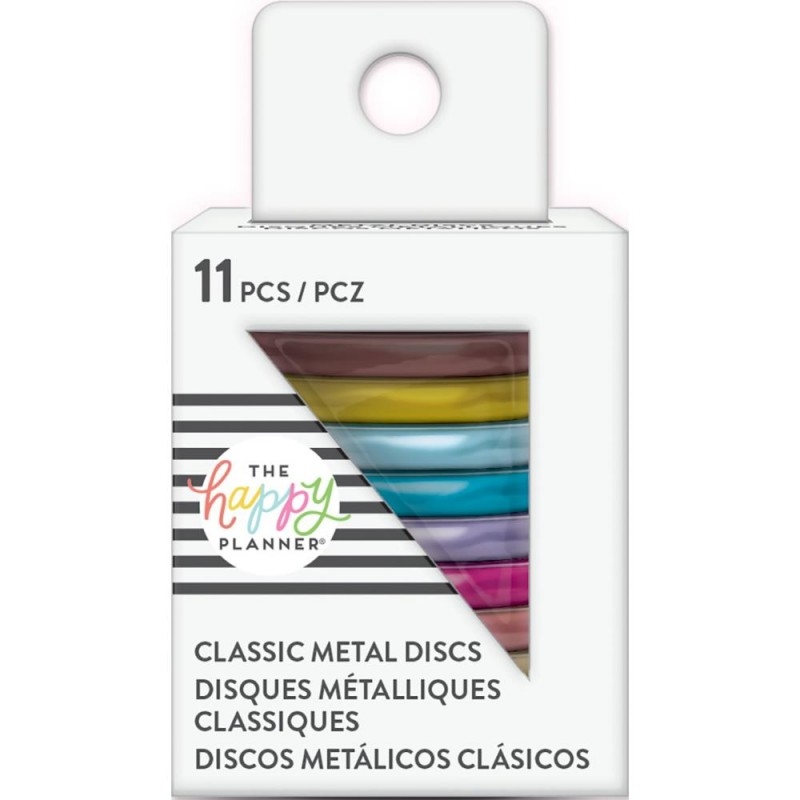 Metal Expander Discs - rainbow - medium