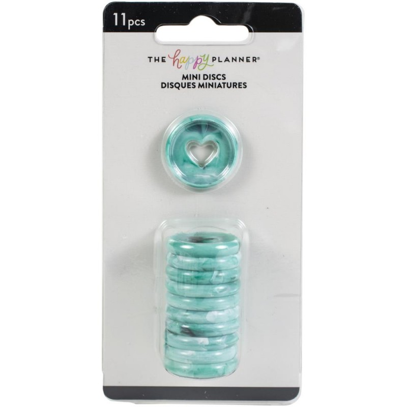 Planner Discs - dragonfly marble - mini