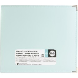 Classic Leather D-Ring Album - mint