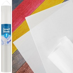 Frosted Stencil Blanks / roll