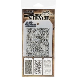 Mini Layered Stencil Set 3/Pkg - Set 49