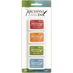 Wendy Vecchi Mini Archival Ink Pads - Set 4