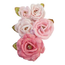 Mulberry Paper Flowers True Friends/With Love