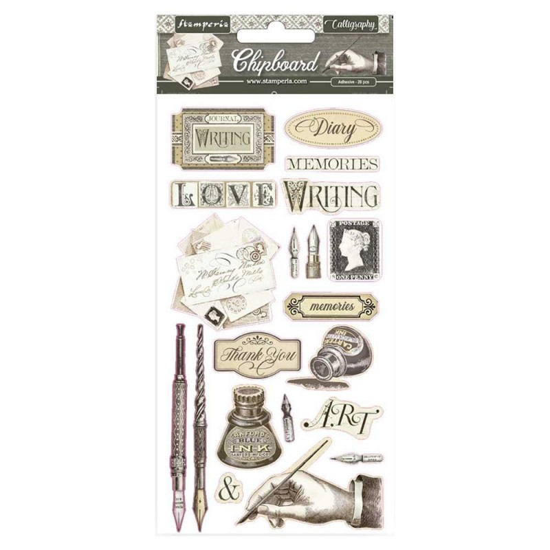 Calligraphy – Adhesive Chipboard