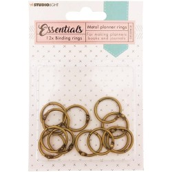 Planner Binding Ring - old gold