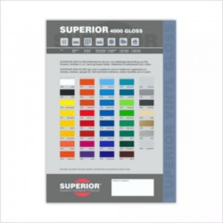 Superior gloss Colour Guide
