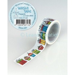 Washi Tape - presents & cupcakes