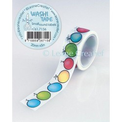 Washi Tape - round labels