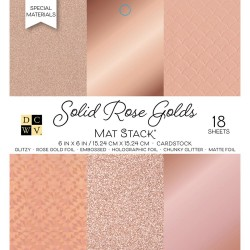 Paper Stack – Solid Rose Golds