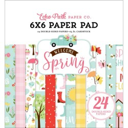 Welcome Spring - Paper Pad 6x6