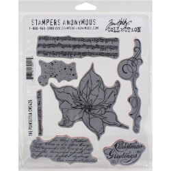 The Poinsettia - Cling Stamp