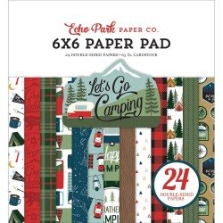 Let's Go Camping Paper Pad 6x6