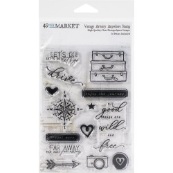 Clear stamp - Vintage Artistry Anywhere