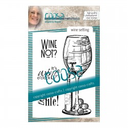 Clear Stamp - Wine setting