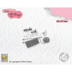 Clear Stamp - Made with love