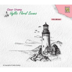 Clear Stamp - Light house