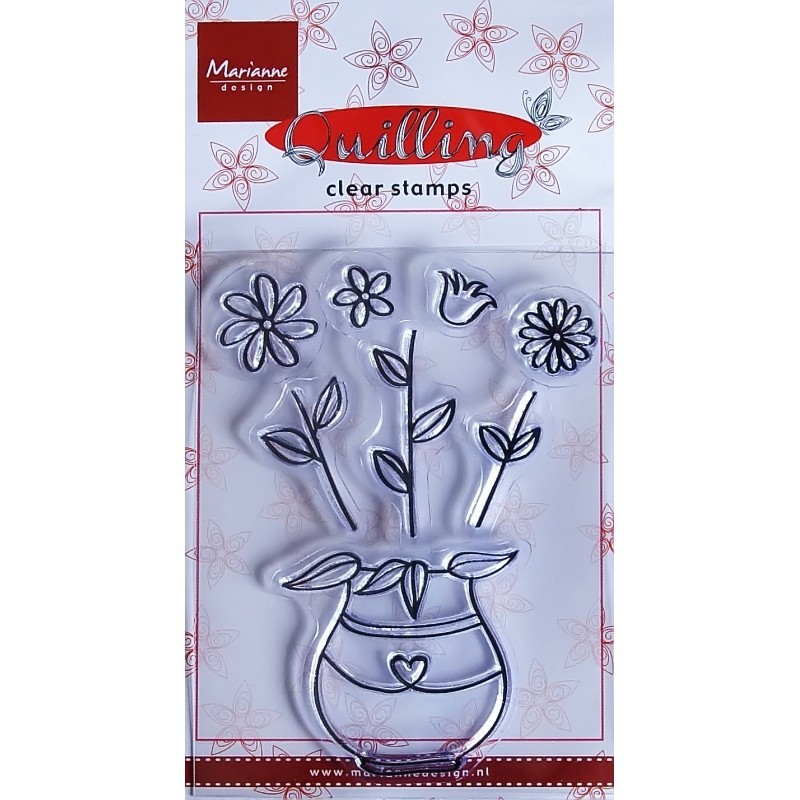 Clear Stamp - Flowers