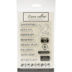 Clear Stamps - Jetsetter