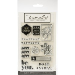 Clear Stamps - I  Am Enough