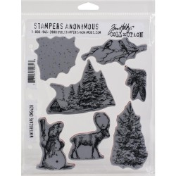 Winterscape - Cling Stamp