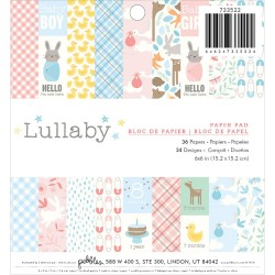 """Paper Pad 6""""X6"""" - Lullaby"""