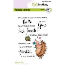 Clear Stamp - Hedgy Text
