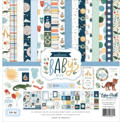 Welcome Baby Boy - Collection Kit