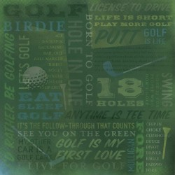 Golf is Life Collage
